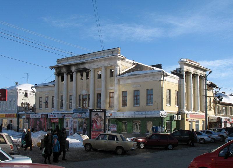 Дом Можарова в Тамбове. Фото 13 февраля 2010 г.