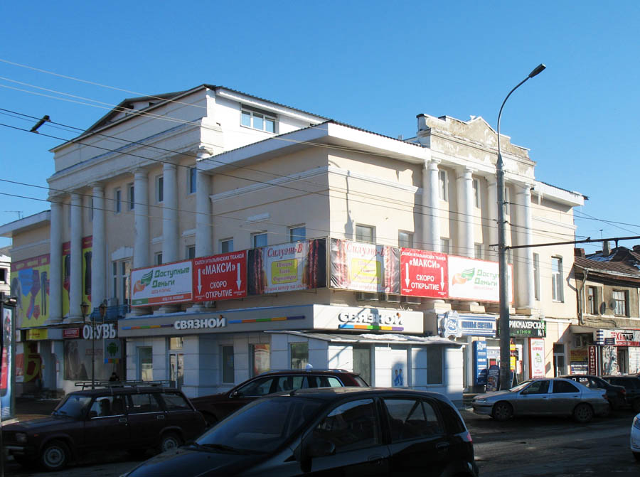 Дом Можарова в Тамбове. Фото 25 февраля 2013 г.