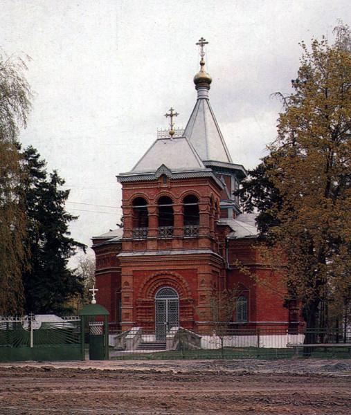 Благовещенская церковь в Новотомникове. Фото 1993 г.