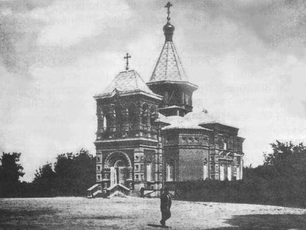 Благовещенская церковь в Новотомникове. Фото конца XIX в.