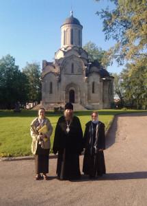 Епископ Арсеньевский и Дальнегорский Гурий с искусствоведами в Музее имени Андрея Рублева