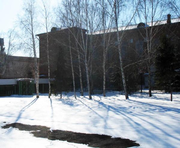 Здание Тамбовской областной картинной галереи. Фото 5 марта 2013 г.