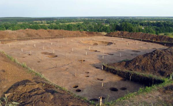 После раскопок