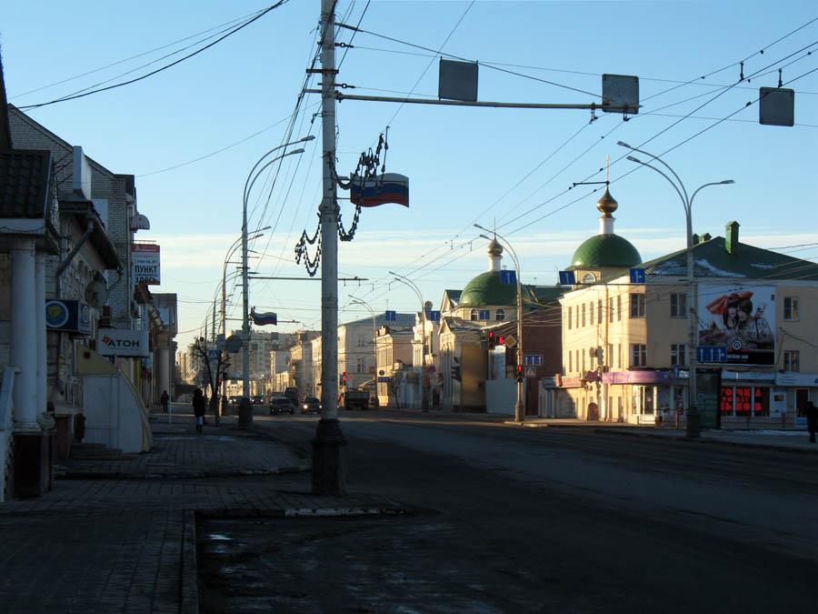 Улица Советская. Тамбов. Фото 8 марта 2013 г.