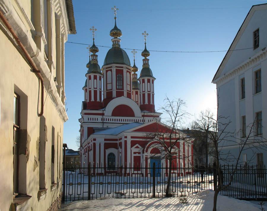 Иоанно-Предтеченская церковь Казанского монастыря. Тамбов. Фото 8 марта 2013 г