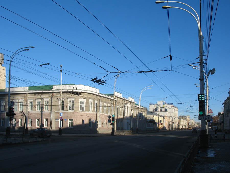 Здание бывшего реального училища.Тамбов. Фото 8 марта 2013 г.