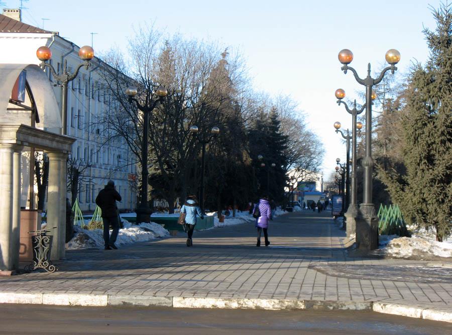 Тамбов. Фото 8 марта 2013 г.