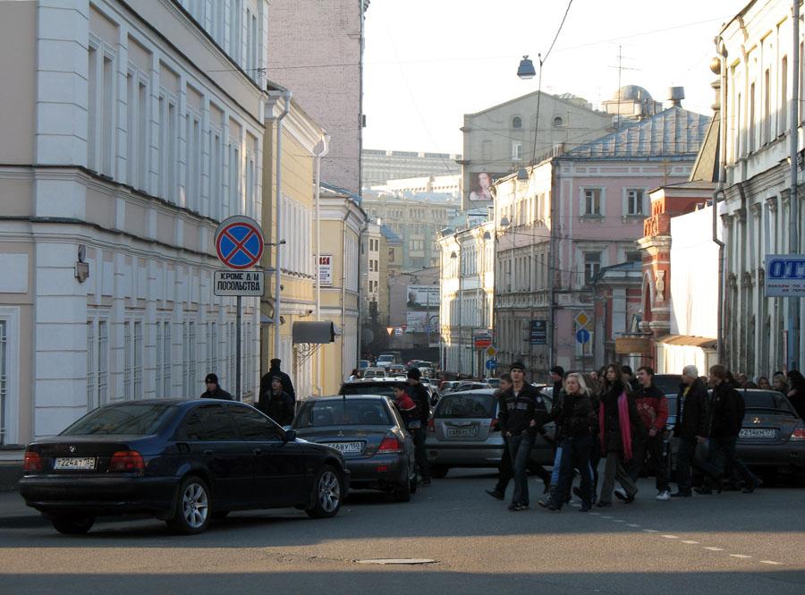 Хитровка. Москва. Фото 12 ноября 2008 г.