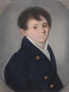 К. Барду. Портрет Евгения Боратынского