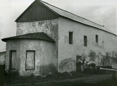 Здание бывшей Казанской церкви в Любичах. Фото 1981 г.