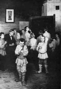 Н.П.Богданов-Бельский. Устный счет. В народной школе С.А.Рачинского. 1896