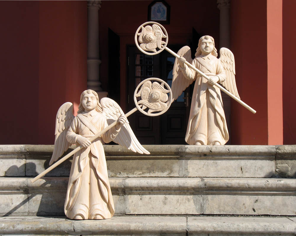А. Климков. Ангелы с рипидами. 2009