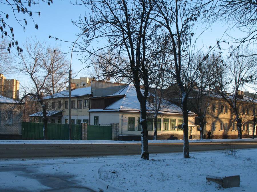 Дом М.А. Боратынского в Тамбове. Фото 29 декабря 2006 г.