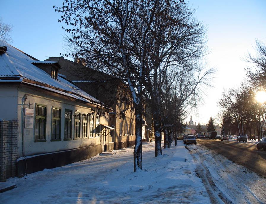 Дом М.А. Боратынского. Фото 29 декабря 2006 г.