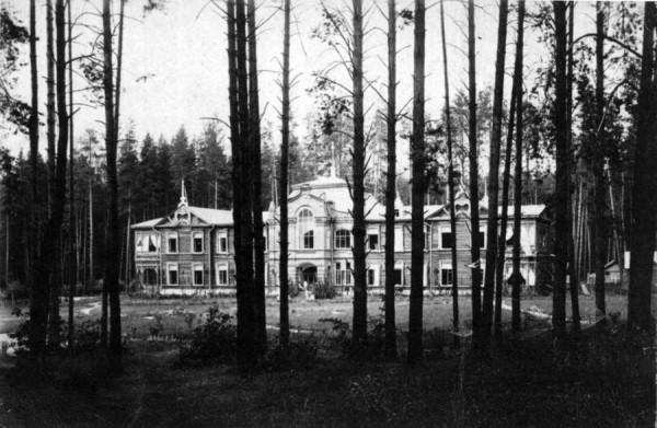 Госпиталь в Иркутске. Фото около 1905 г.