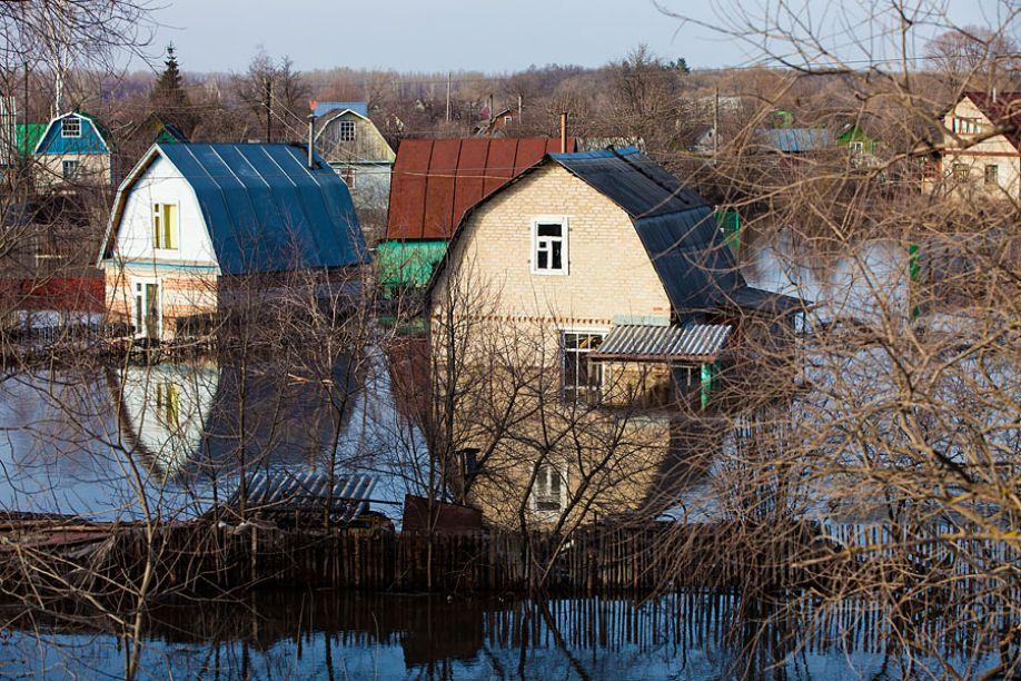 Тамбов. Паводок-2013