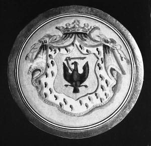 Герб рода баронов Боде
