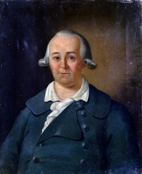 Портрет барона Карла-Августа-Людвига Боде
