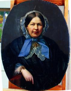 Портрет Елены Львовны Боратынской (урожденной Боде)
