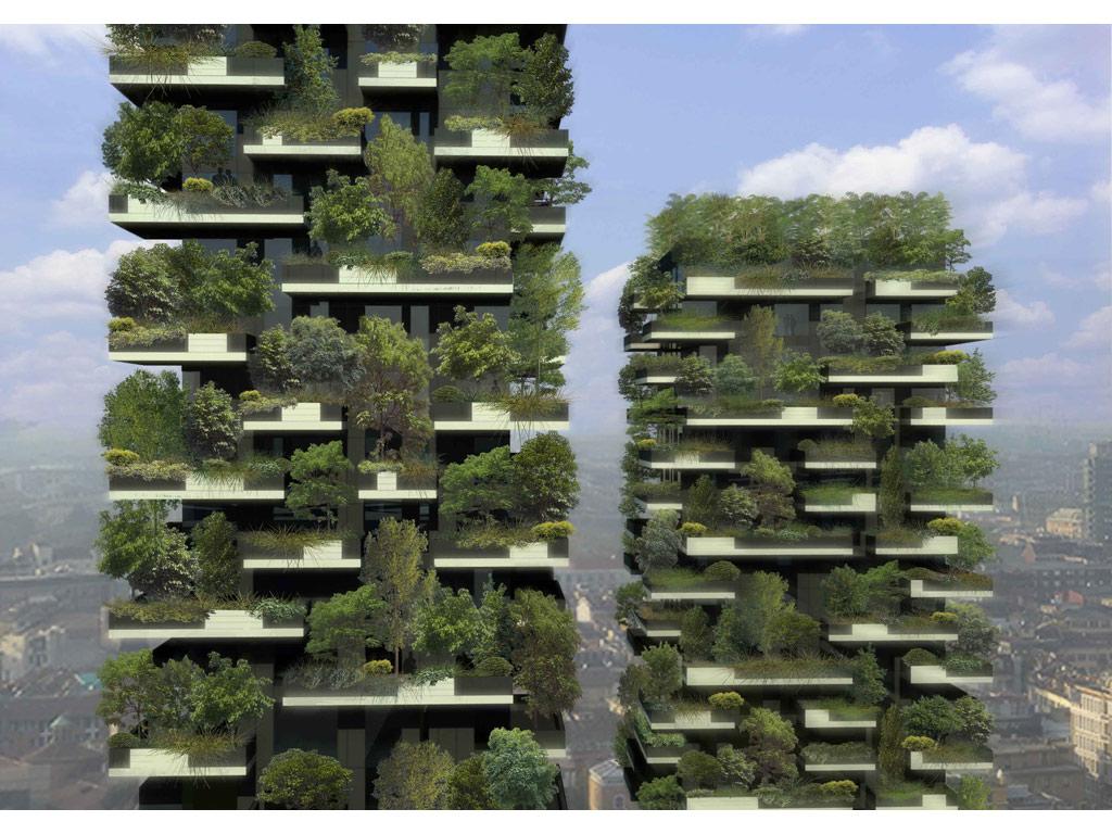 Зеленые башни