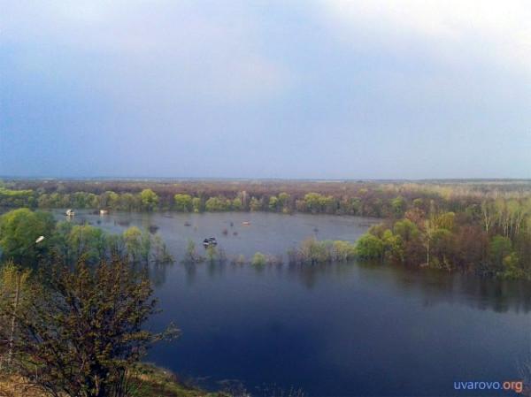 Разлив Вороны. Фото 2013 г.