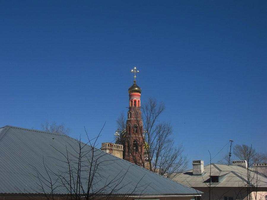 Синее-синее небо. Фото 15 апреля 2013 г.