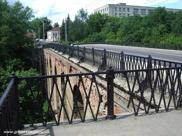 Каменный мост (1785) в Калуге. Фото 2006 г. (до реконструкции)