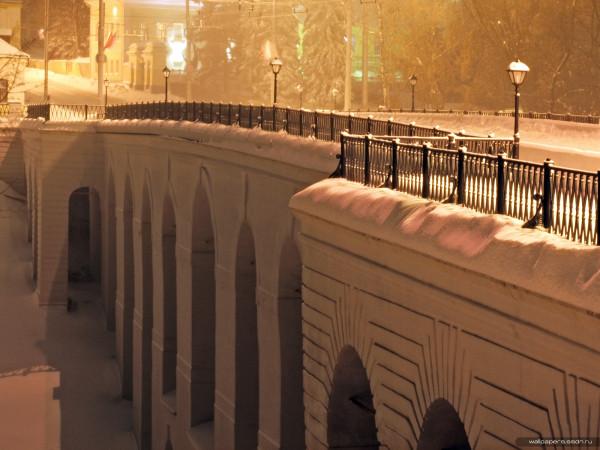 Мост после реставрации. Фото 2010-х гг.