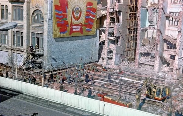 Дом Сытина в Москве. Фото 1979 г.