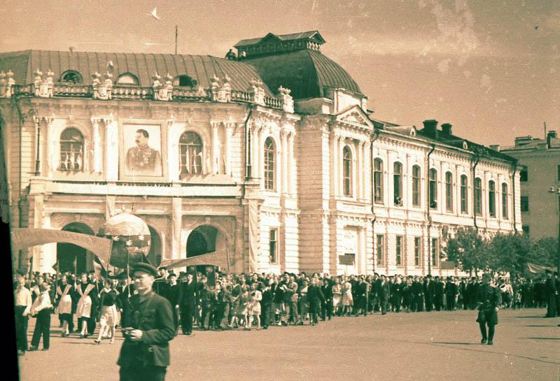 Первое мая в Тамбове. Фото 1949 г.