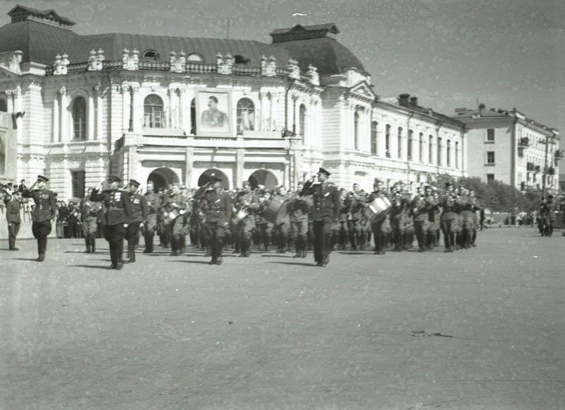 1 Мая в Тамбове. Фото 1949 г.