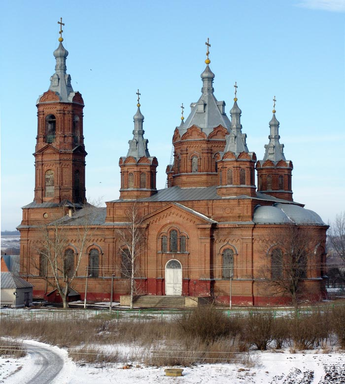 Архангельский храм в с. Мордово