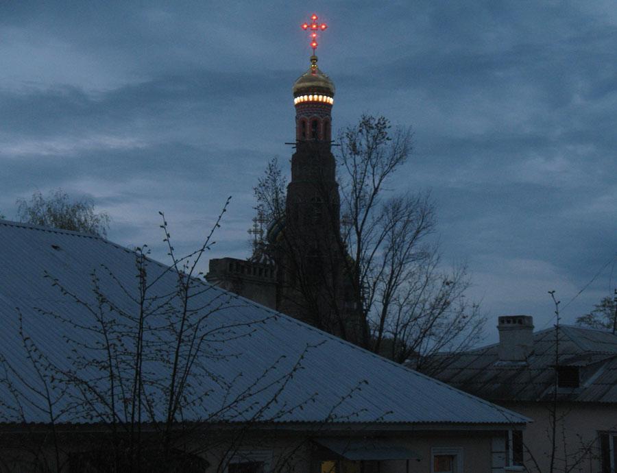 Колокольня Вознесенского монастыря в Тамбове. 2 мая 2013 г.