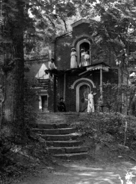 Грот в парке Мары. Фото начала 1900-х гг.