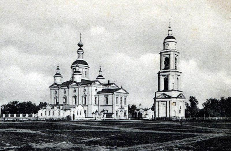 Спасо-Преображенский собор в Тамбове. Фото конца 19 в.