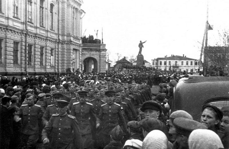 9 мая 1945 года в Тамбове