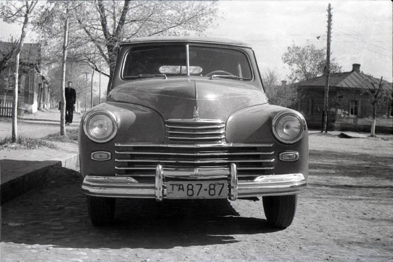 Газ-М20 в Тамбове. Фото 1949 г.