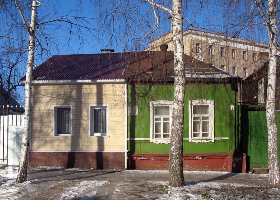Дом № 9 на ул. Комсомольской в Тамбове. Фото 12.12.2012