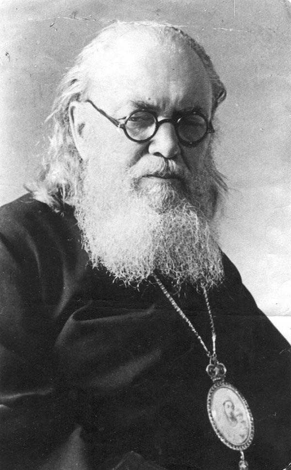 Архиепископ Лука (Войно-Ясенецкий). Фото середины 1940-х гг.