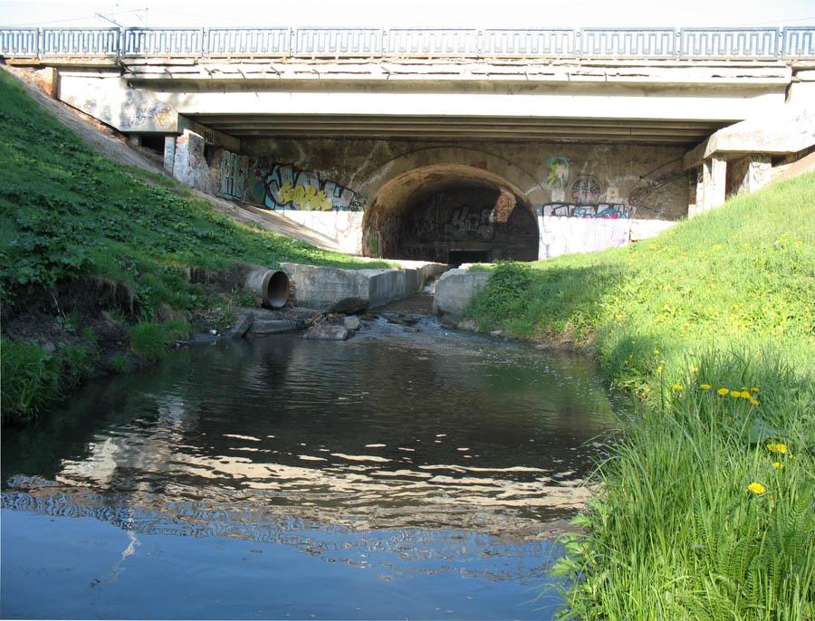 Державинский мост через речку Студенец в Тамбове