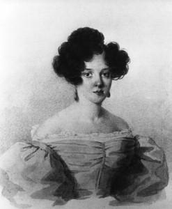 Портрет Варвары Аврамовны Рачинской (урожд. Боратынской). Около 1830 г.