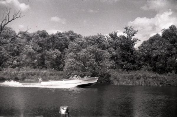 Милиция на Цне. Фото конца 1950-х гг.