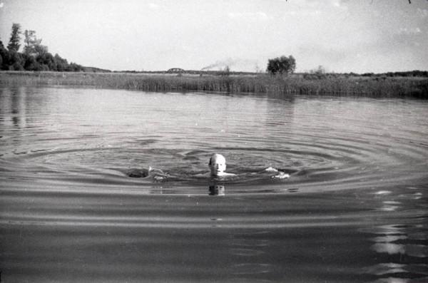 На реке Цне. Фото конца 1950-х гг.