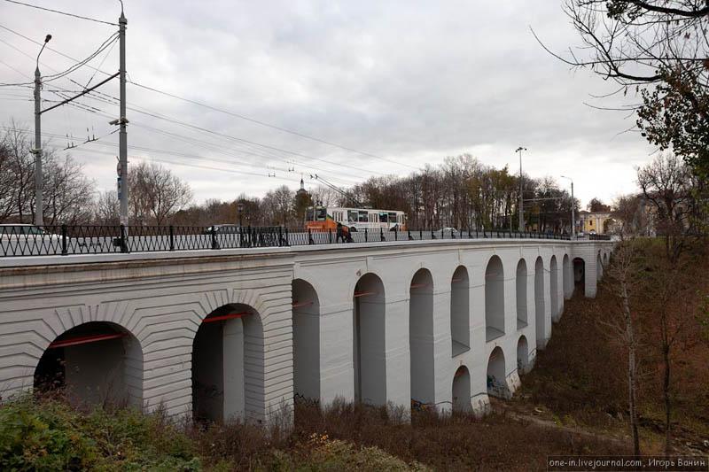 Каменный мост через Березуевский овраг. Калуга