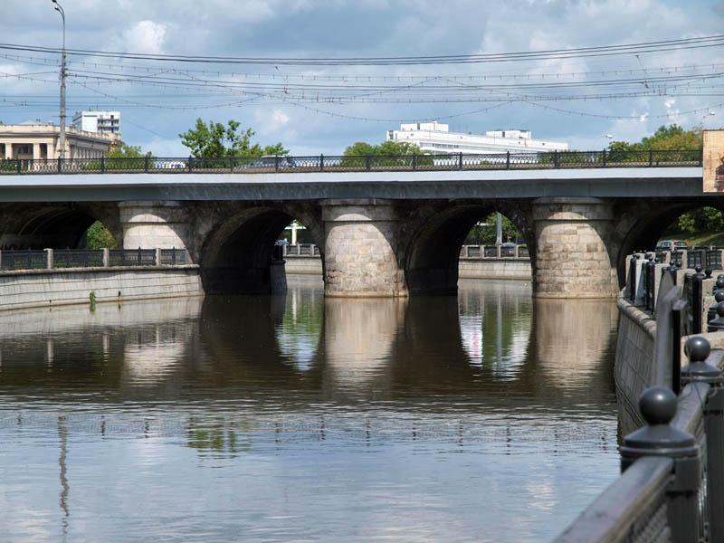 Лефортовский мост. Москва. Фото 2010-х гг.