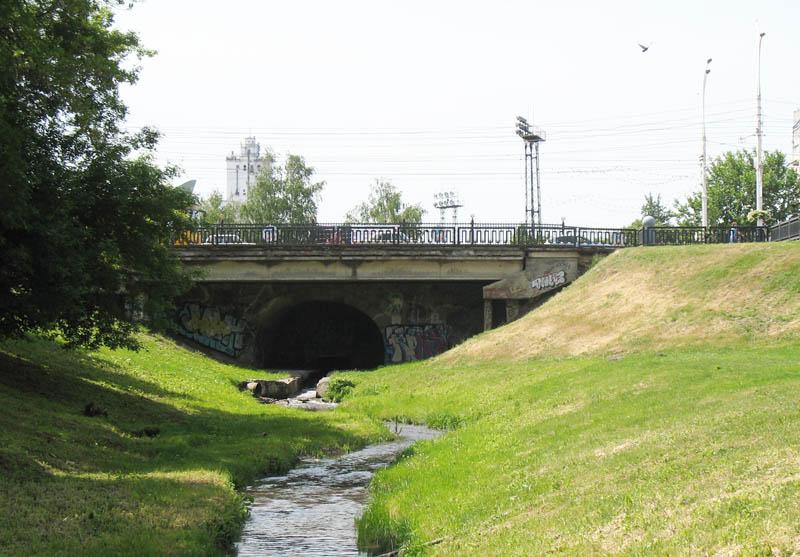 Державинский мост тамбов