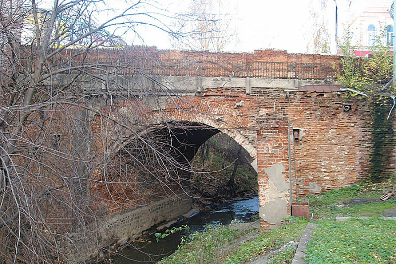 Мост в Вологде