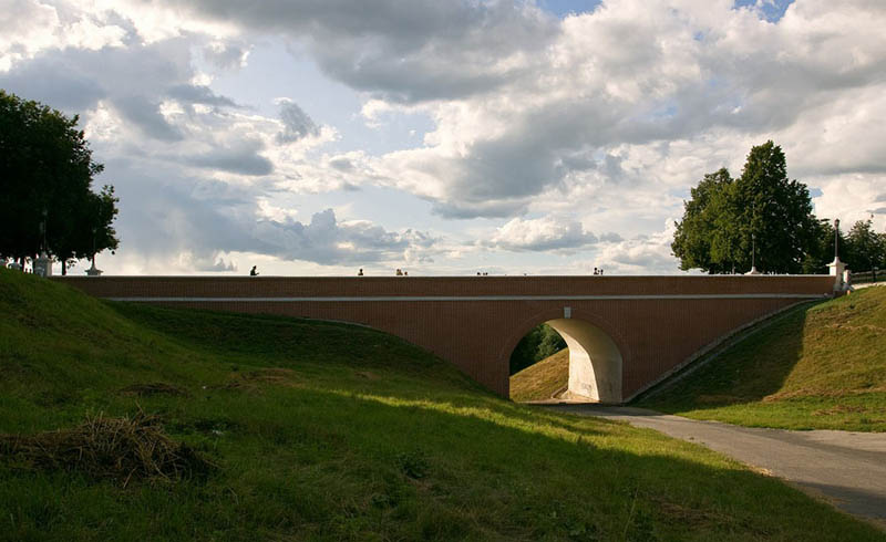 Глебовский мост. Рязань