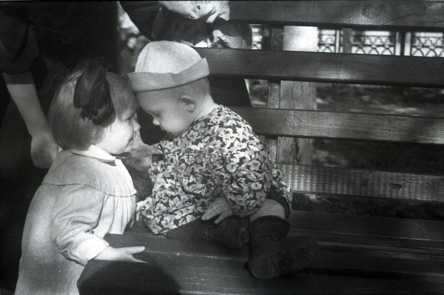 Фото В.Г. Шпильчина 1950-х гг.