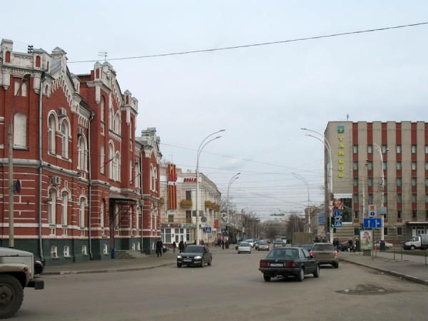 Улица Московская в Тамбове. Фото 2011 г.